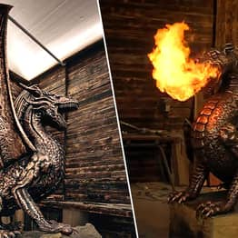Game Of Thrones Fans Can Now Buy 6ft Fire Breathing Dragons To Guard Their Homes