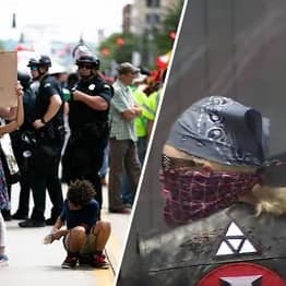 9 People At KKK Rally in Ohio Outnumbered By 600 Protestors