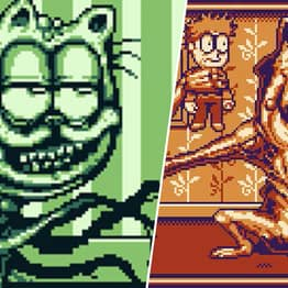 Game Boy Garfield Is A Horror I Cannot Handle