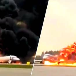 At Least 13 People Dead After Plane Bursts Into Flames Mid-Flight