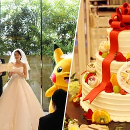 Official Pokemon Weddings Are Now A Thing In Japan