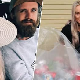 Couple Fund Wedding By Recycling Cans
