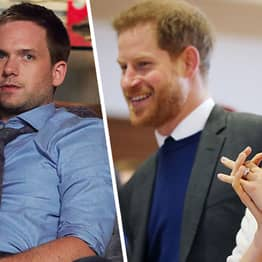 Patrick J Adams Heartwarming Tweet To Meghan Markle And Harry After Royal Baby Birth