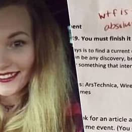 Florida Teacher Under Investigation For Writing 'WTF Is This' On Student's Work