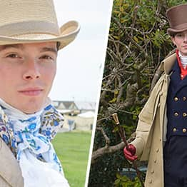 Man Rejects 21st Century Clothing And Only Dresses Like He's From 1820s