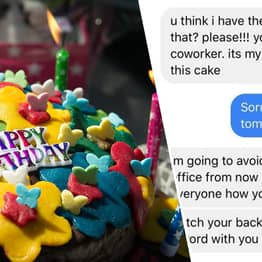 Co-Worker Threatens Woman With HR When She Won't Bake Her Birthday Cake