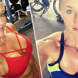 Mum-Of-Two Overcomes Eating Disorder To Transform Physique