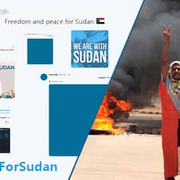 People Changing Their Profile Pictures To Blue In Solidarity With Sudan