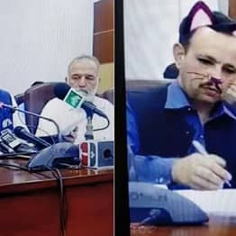 Government Accidentally Turns On Cat Filter During Facebook Live