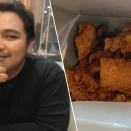 Guy Buys All The Fried Chicken In Store So Woman Who Called Him Fat Can't Have Any