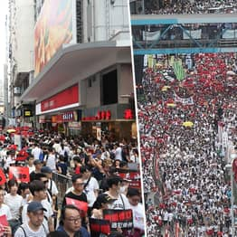 Hundreds Of Thousands In Hong Kong Protest New 'Evil' Extradition Bill