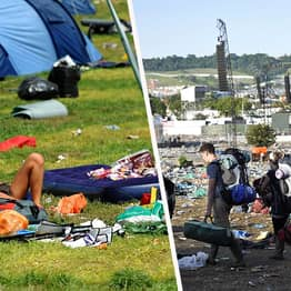 All The Sh*t You Leave At Festivals Doesn't Go To Charity, It's Seriously Damaging The Environment