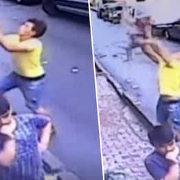 Teen Hero Catches Toddler, 2, Who Fell Out Of Second Floor Window