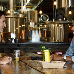 Barack Obama And Justin Trudeau Met Up For A Beer And The Internet Is Loving Their Renewed Bromance