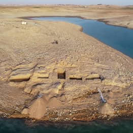 Reservoir Dries Up Revealing 3,500 Year Old Mysterious Grand Palace