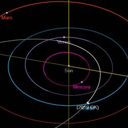 'City Killer' Asteroid Came Scarily Close To Earth Yesterday