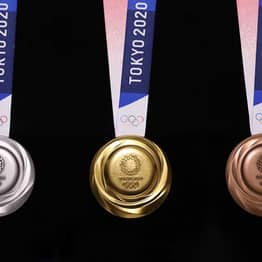 Tokyo Olympic Medals Made From 80,000 Tons Of Recycled Electronics