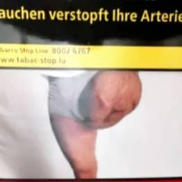 Man Finds Photo Of His Own Amputated Leg On Cigarette Packet
