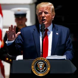 Trump 'Felt Badly' About 'Send Her Back' Chant Directed At Ilhan Omar