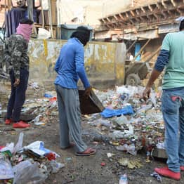 People Can Exchange Rubbish For Free Food At India's First Garbage Cafe