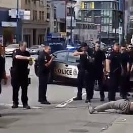 Police Repeatedly Shoot Unarmed Man With Bean Bag Gun From 10 Feet Away