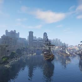 Minecraft Players Recreate Whole Of Middle Earth After Nine Year Effort