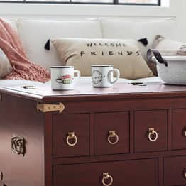 You Can Now Buy Rachel's Apothecary Table From Pottery Barn
