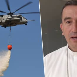 Catholic Bishop Will Drop Holy Water From Helicopter To Exorcise A City