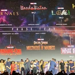 Marvel Unveil Complete Lineup For Phase 4, Includes Black Widow, Thor, The Eternals And Dr Strange Movies