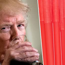 Trump Is Selling Branded Plastic Straws Because 'Liberal Paper Straws Don't Work'