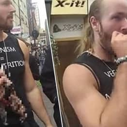 Pro-Meat Protesters Fined For Eating Raw Squirrels In Front Of Vegans