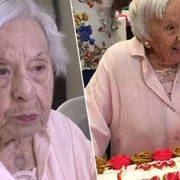 107-Year-Old Woman Says Secret To Long Life Is Never Get Married