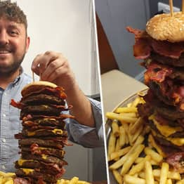 Pub Will Pay For Your Gravestone If You Die Attempting Their Ultimate Burger Challenge