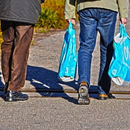 Single-Use Plastic Bag Sales In England Halved In Past Year