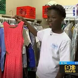 13-Year-Old Creates School Closet So Underprivileged Classmates Have Nice Clothes To Wear