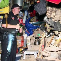 Fugitive Hides For Three Years Inside Homemade Solar-Powered Bunker To Escape Police
