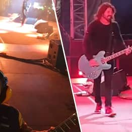Dave Grohl Invites 5-Year-Old Foo Fighters Fan On Stage During Gig And He Absolutely Stole The Show