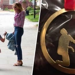 Mother-In-Law Gives Newlyweds Accidentally Rude Sculpture Of Proposal