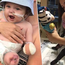 Baby's Leg Came Off In Mum's Hand As Throat Infection Became Sepsis