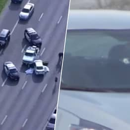 Shooter On The Run After Killing Two People On Houston Freeway