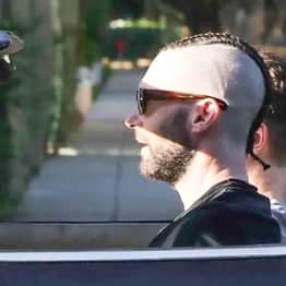 Adam Levine Has Shaved His Head And Got Cornrows For Some Reason