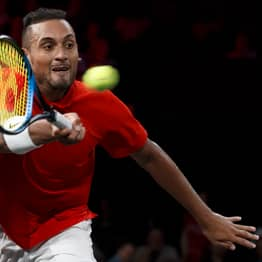 Nick Kyrgios Blames Defeat To Roger Federer On 'Hot Chick In The Crowd'