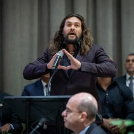 Jason Momoa Tells World Leaders To 'Stop Half-Assing It' And Tackle Climate Change Now
