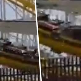 Two Dead As Rollercoaster Car Derails And Plunges Into Ground