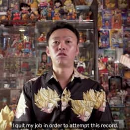 Man Quits Job To Collect Dragon Ball Merch Full Time, Ascends To Godhood