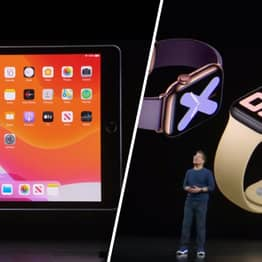 Apple Announces All-New iPad And Watch
