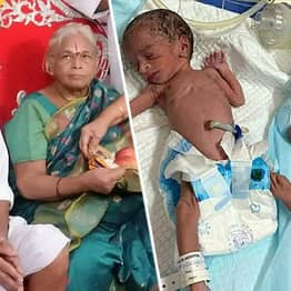 82-Year-Old Husband Of Indian Woman, 73, Who Gave Birth To Twins Has Stroke