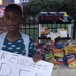Six-Year-Old Boy Uses All His Pocket Money To Buy Food For Hurricane Dorian Evacuees