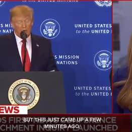 MSNBC Cut Trump's Press Conference To Call Him Out On His Lies
