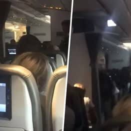 Thomas Cook Pilot Breaks Down In Tears In Front Of Final Passengers